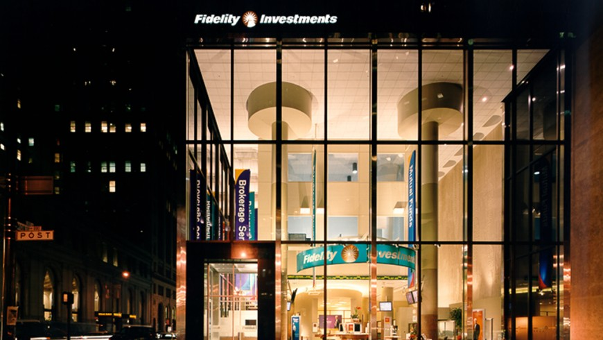 Fidelity SF street at night
